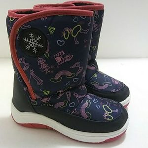 Other - ❄⛄🌂 New Girls Snow Rain Boot Blue/Pink ❄⛄🌂